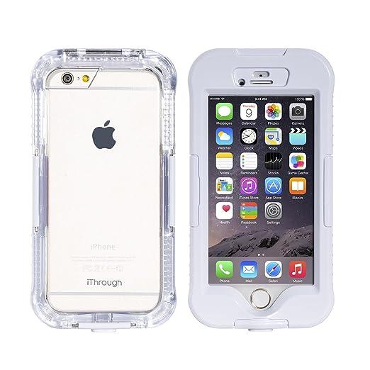 21 opinioni per iPhone 6S Custodia Impermeabile, iThrough™ iPhone 6S/ iPhone 6, Custodia