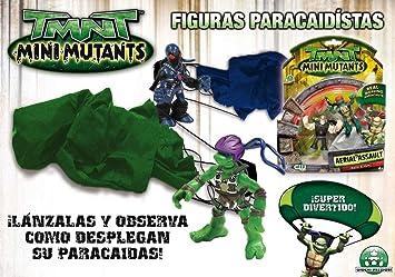 Giochi Prezziosi Tortugas Ninja paracaidas+2 Figuras blis ...