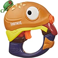SUPERSOAKER Nerf Super Soaker Fortnite Beef Boss Water Blaster -- Fortnite Beef Boss Character Design -- Easy-to-Carry Micro Size -- for Kids, Youth, Adults