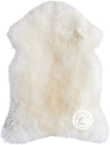 Natural Sheepskin Rug 2.5ft x 3.5ft Soft Premium Quality Area Rug