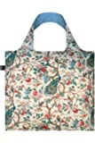 LOQI LQB1-MUWHPP Museum Shopping Bag, Peacock with Peonies, L Capacity