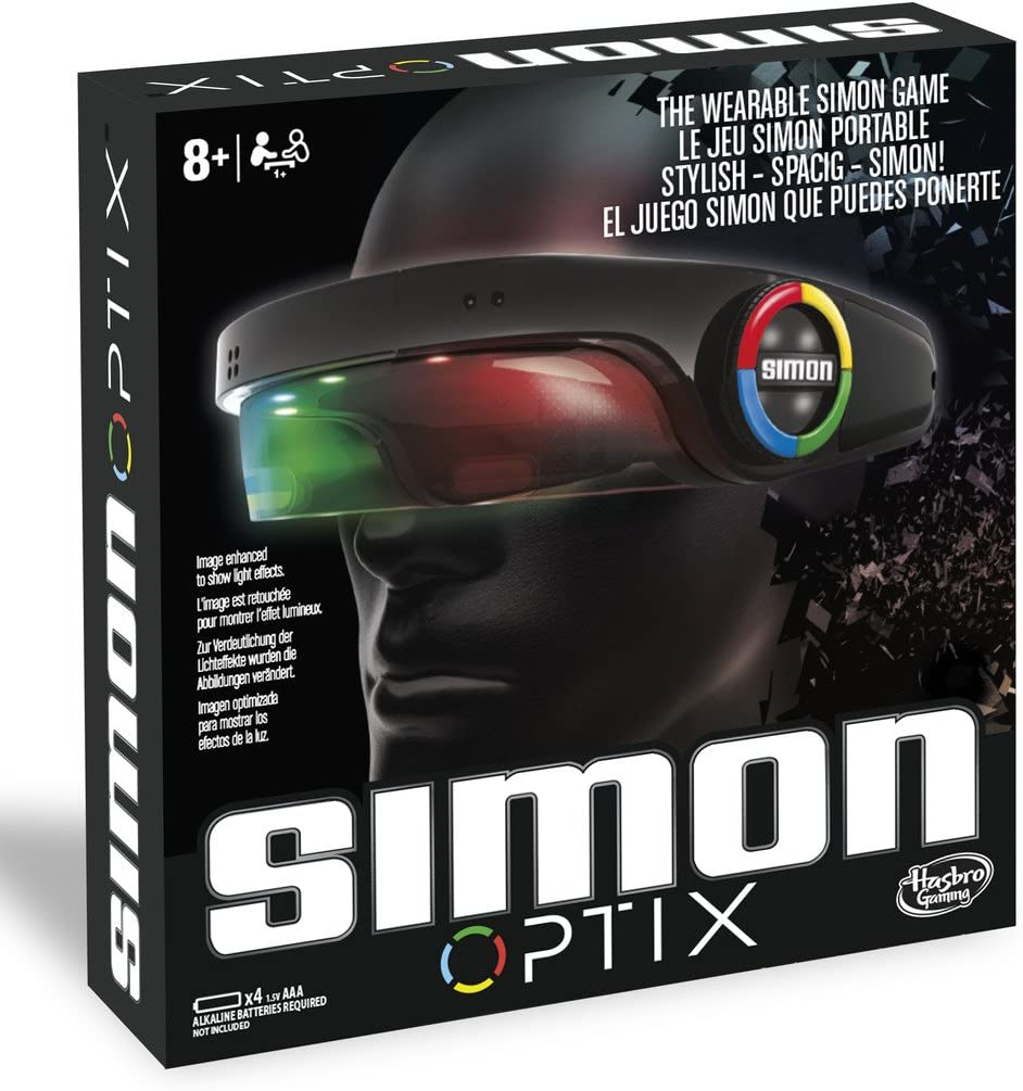 Hasbro Gaming Juegos Simon Optix, Multicolor, 27 x 27 cm (C1959EU4 ...