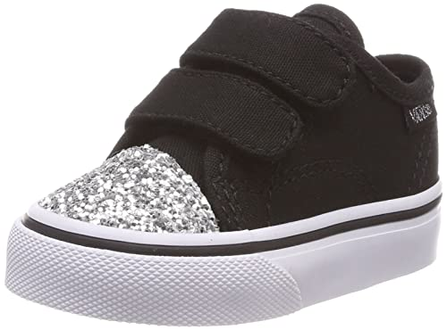 0376a2652711 Vans Style 23 V Glitter Toe Black/White Toddler Shoes (7 M US Toddler):  Amazon.ca: Shoes & Handbags