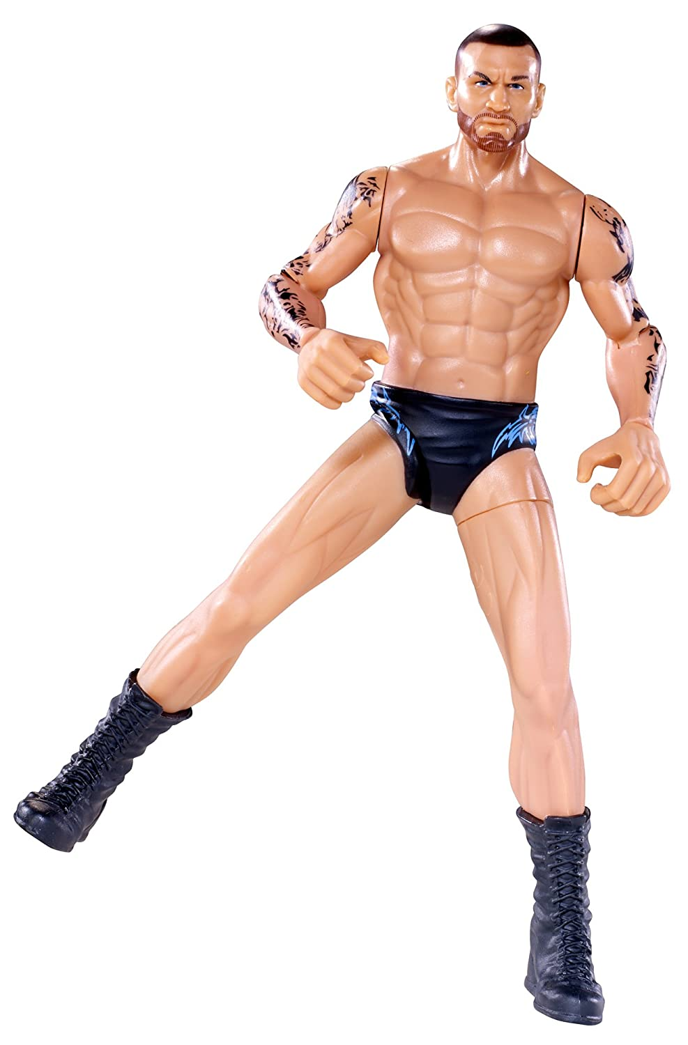 amazon com wwe flexforce lightning swing kickin randy orton toys
