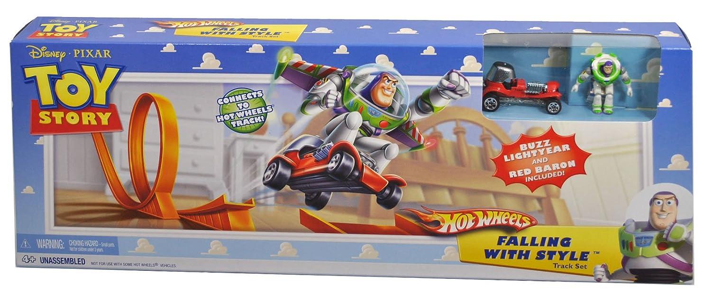 Circuito Hot Wheels : Hot wheels p toy story circuito con coche y figura de buzz