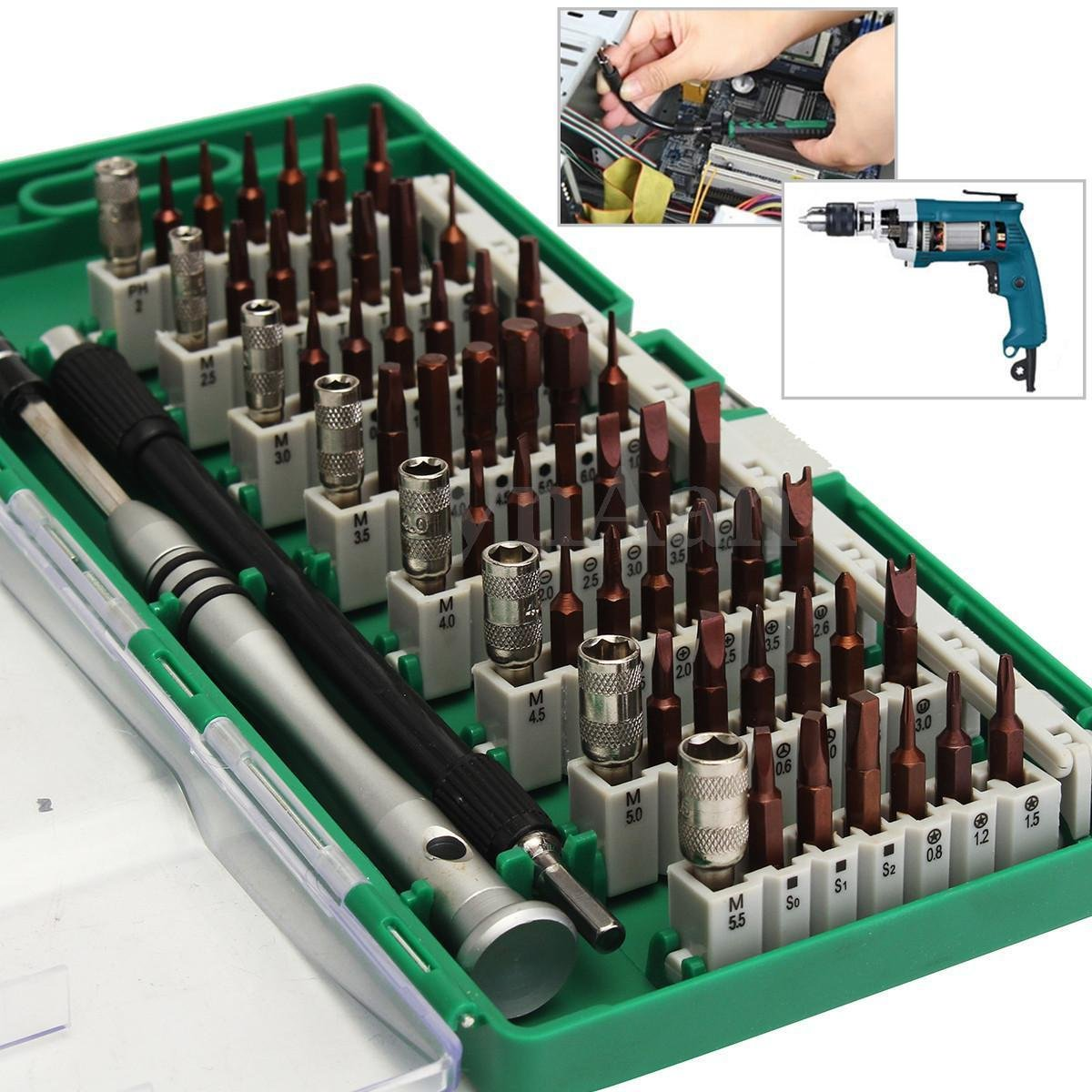 60 in1 Multi-purpose Precision Screwdriver Set Tweezer Cell Phone Repair Tool