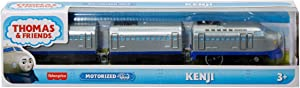 Thomas & Friends Kenji Battery-Powered Motorized Toy Train Engine for Preschool Kids Ages 3 Years and up