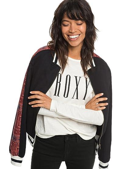Roxy Free and Wild - Chaqueta Bomber para Mujer ERJJK03261: Amazon.es: Ropa y accesorios