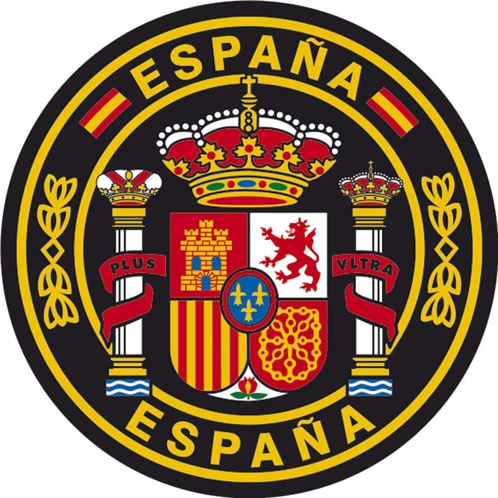 Artimagen Aufkleber Kreis Spanien ø 50 Mm Auto