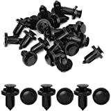 uxcell 20 Pcs 10mm Hole Retainer Clips Plastic