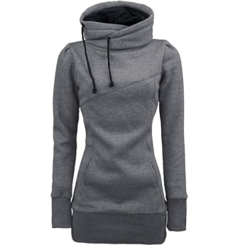 Magiyard Pullovers Mujer invierno Blusa suelta de manga larga Camiseta