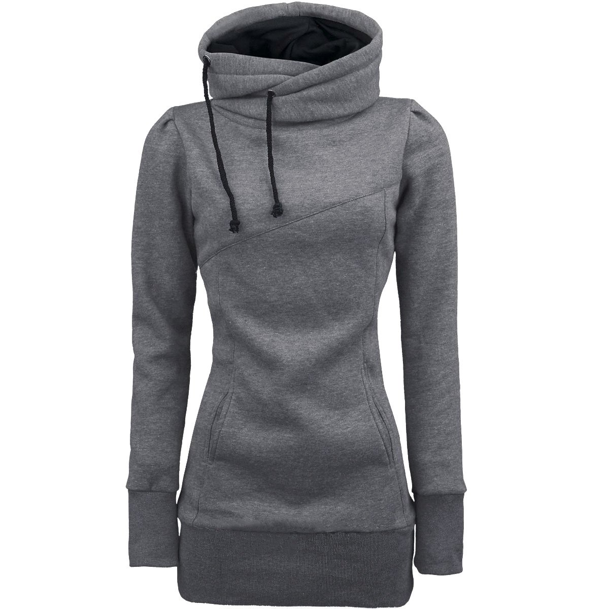 VANSOON Sweatshirts for Women Long Sleeve Sweater Fashion Loose Pullover T-Shirt Hooded Long Sleeve Blouse