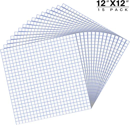 "Cricut 12/"" x 50 FT w//Blue Alignment Grid for Adhesive Vinyl Medium Tack Vinyl Transfer Tape for Silhouette Cameo JANDJPACKAGING Transfer Tape for Vinyl"