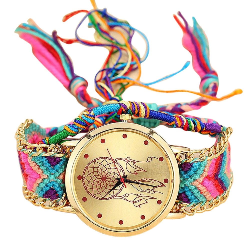 Amazon.com: Handmade Vintage Wrist Watch Daoroka Native Handmade Ladies Vintage Quartz Watch Friendship Watches (H): Cell Phones & Accessories