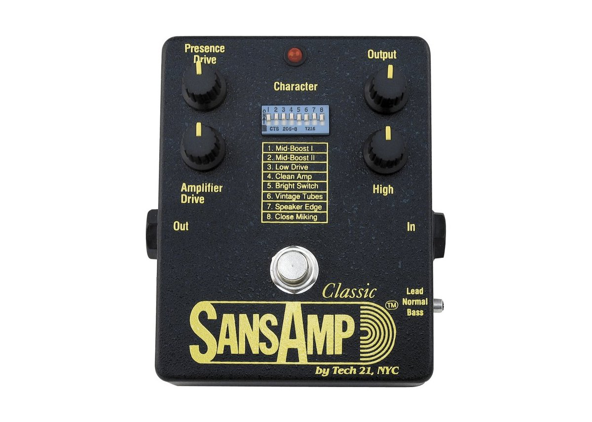Tech 21 SansAmp SA1 Classic Amp Simulator by tech21