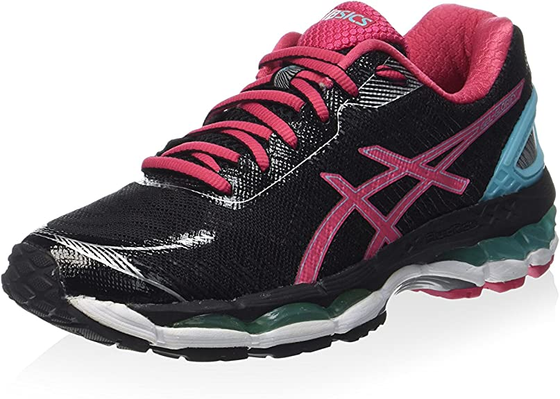 Nombre provisional azufre Informar  Asics Womens Gel Glorify 2 - UK 4, BLACK/AZALEA/BLUE: Amazon.co.uk: Shoes &  Bags