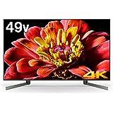 ソニー 49V型地上・BS・110度CSデジタル4Kチューナー内蔵 LED液晶テレビ(別売USB HDD録画対応)Android TV 機能搭載BRAVIA KJ-49X9500G