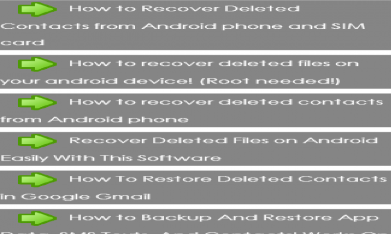 Amazon com: restore deleted contacts: Appstore for Android