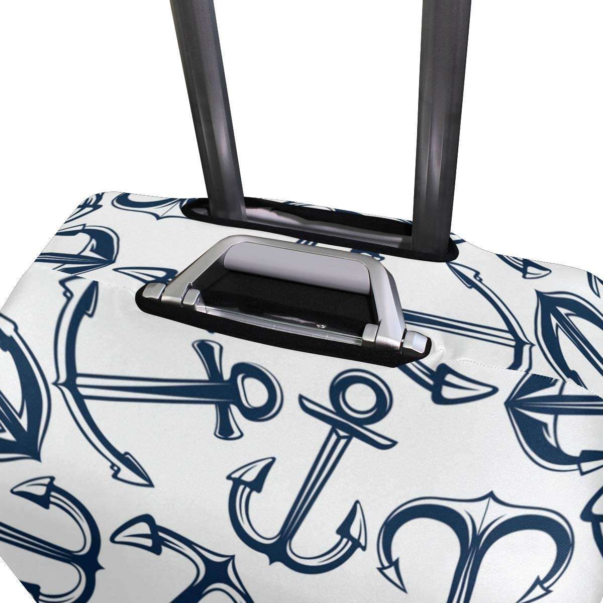 GIOVANIOR Retro Marine Anchors Luggage Cover Suitcase Protector Carry On Covers