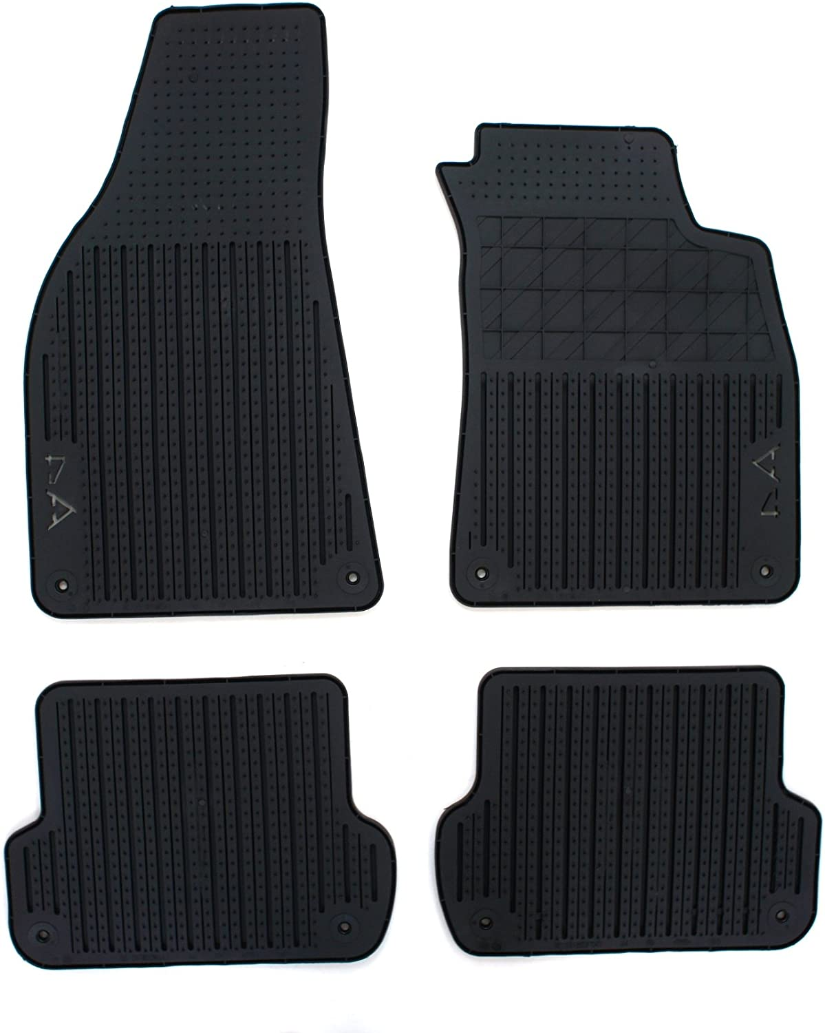 Tailored Drivers Car Floor Mat in Black Single B9 Audi A4 2015-2018