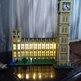 LED Lighting Set For Big Ben Model Creator Series Compatible With Lego 10253 Building Blocks Toy (NOT Included The Model Set)