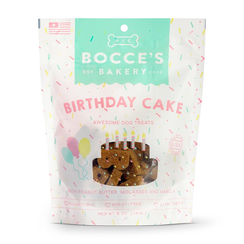 Amazon.com: Petanca de tarta de cumpleaños perro galletas ...