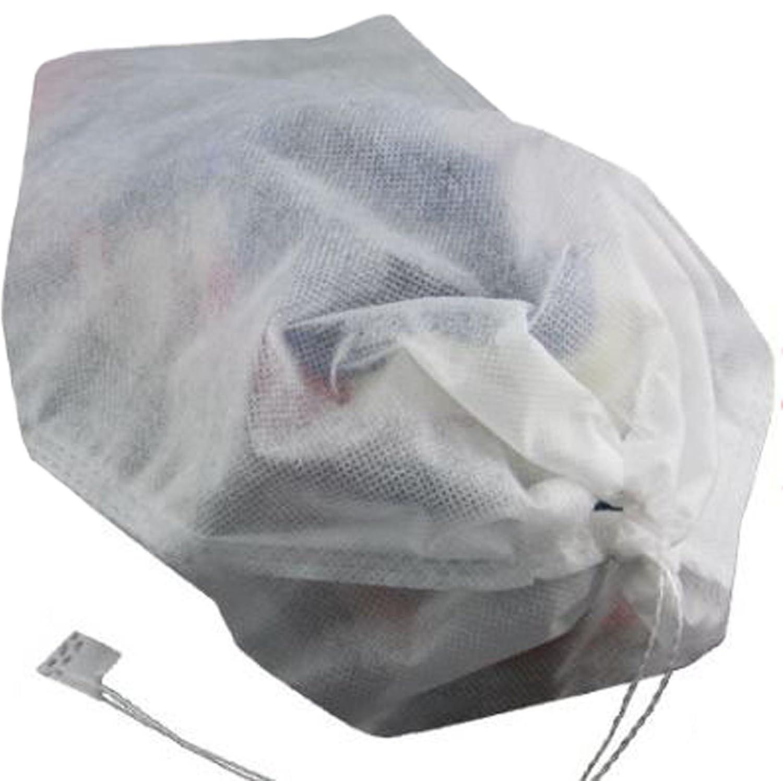 aldorado 4個不織布靴オーガナイザートラベルパックほこり防止保護ホワイト33 x 36   B01NBVDBER