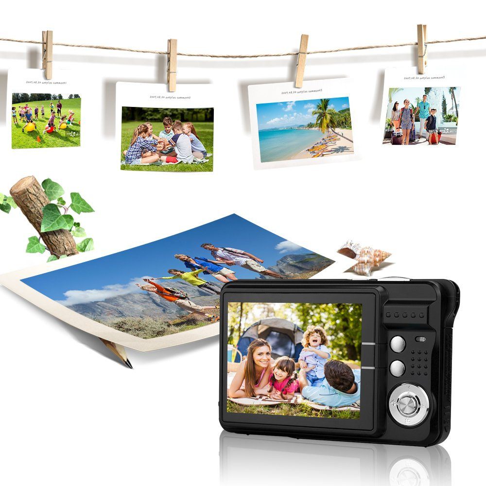 Yasolote HD Mini Point Shoot Digital Camera Video Recorder Cameras Sports,Travel,Holiday,Birthday Present by Yasolote (Image #8)