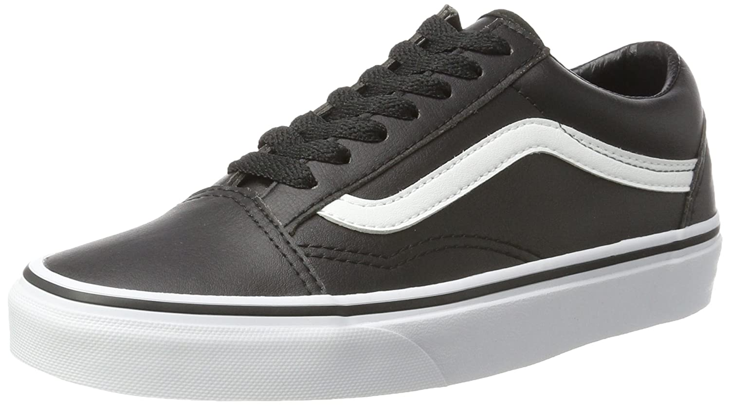TALLA 35 EU. Vans Old Skool Leather, Zapatillas Unisex Adulto