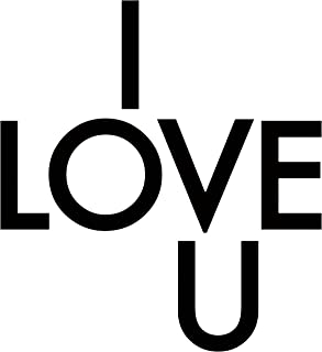 product image for WallCandy Arts Peel-and-Stick, Love U Wall Decals