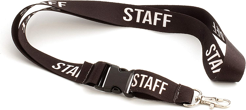 Lanyard con llavero extraible por menos de 5 euros | STAFF | Correa de cuello | Correa de llaves de cuello | Llaveros de cuello: Amazon.es: Oficina y papelería