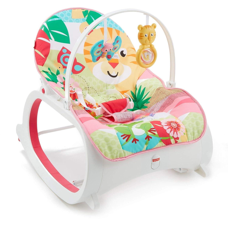 a831e7b1f Fisher-Price Hamaca crece conmigo selva, hamaca bebé recién nacido (Mattel  FMN40): Amazon.es: Juguetes y juegos
