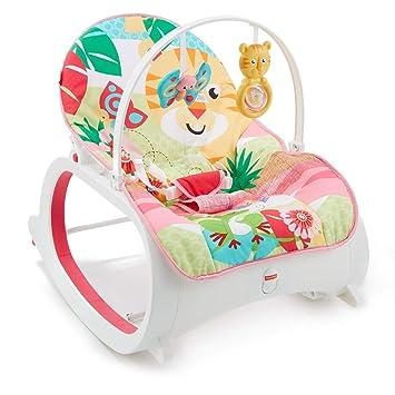 Fisher-Price Hamaca crece conmigo selva, hamaca bebé recién nacido (Mattel FMN40): Amazon.es: Juguetes y juegos
