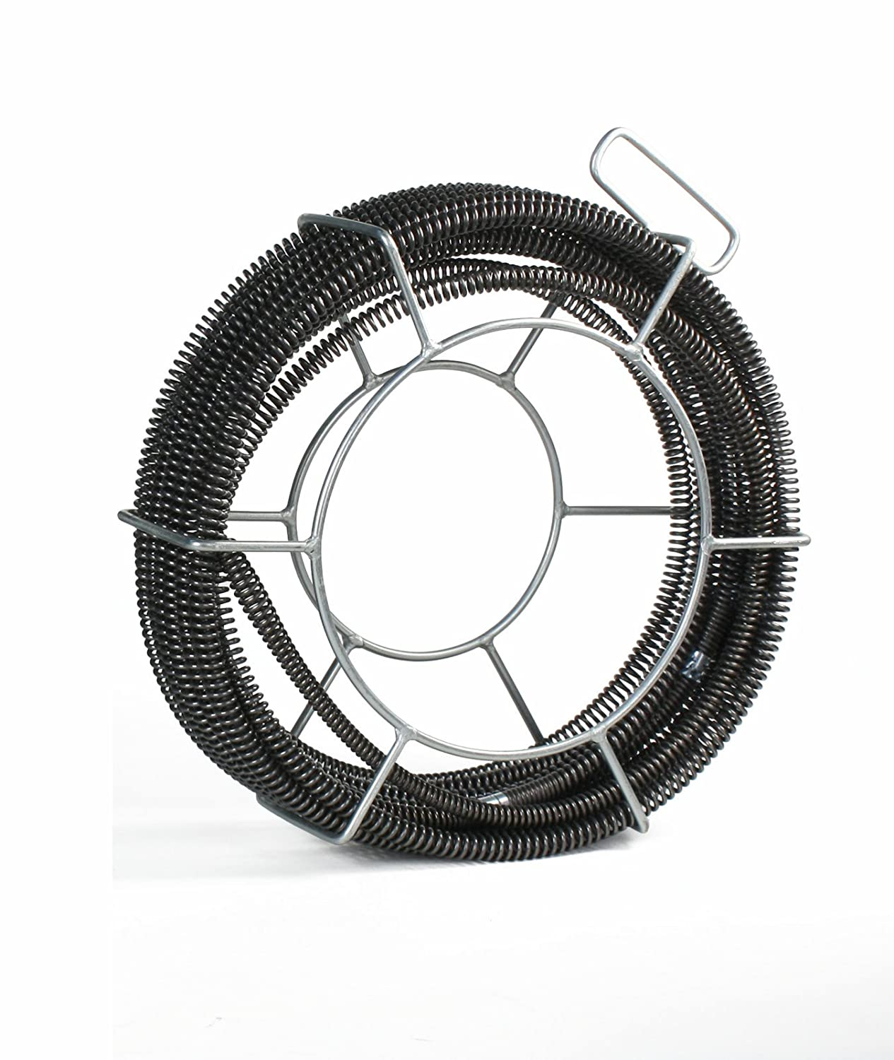 SDT C10 Sectional Drain Cable 7/8 x 45' fits RIDGID K1500 with A8 Carrier Steel Dragon Tools