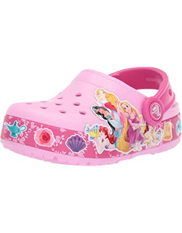 dda840c6d427 Crocs Kids  Boys and Girls Disney Princess Band Light Up Clog