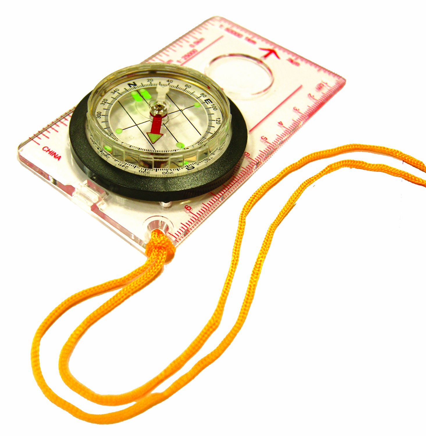 eGear Deluxe Map Compass with Lanyard