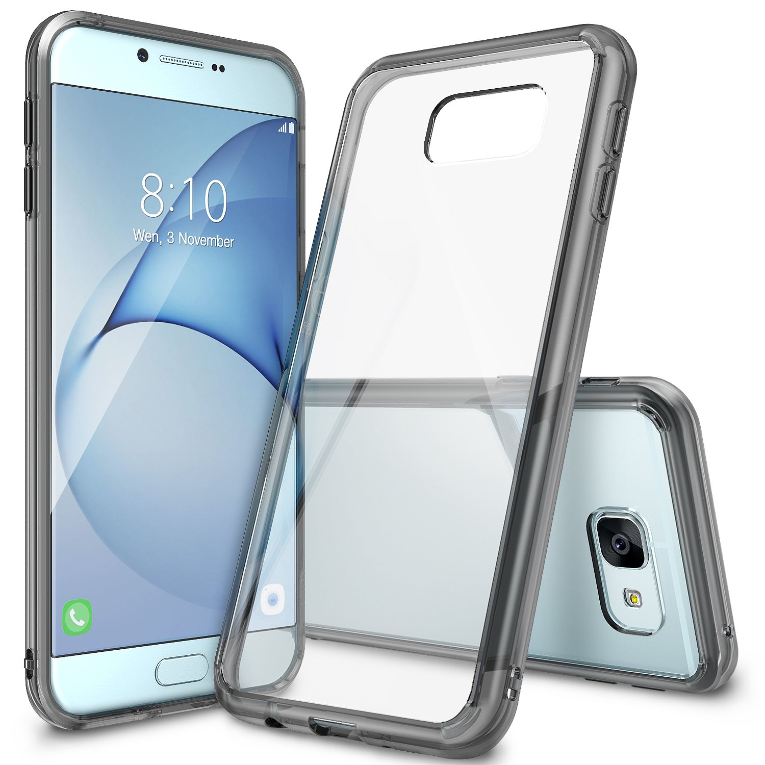 sale retailer ae90b 6ce89 Ringke [Fusion] Compatible with Galaxy A8 2016 Case Tough PC Back TPU  Bumper [Drop Protection, Shock Absorption Technology] Raised Bezels  Protective ...