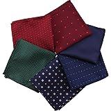 Kissing U Herren Taschentuch Einfarbig & Gemischtes Sortiertes Muster Einstecktuch-Set