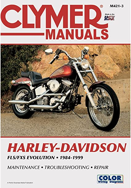 1999 softail wiring diagram amazon com 1 clymer harley davidson fls fxs evolution evo  amazon com 1 clymer harley davidson
