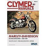 Clymer Repair Manual for Harley FX/FL/FLSTN Softail 84-99