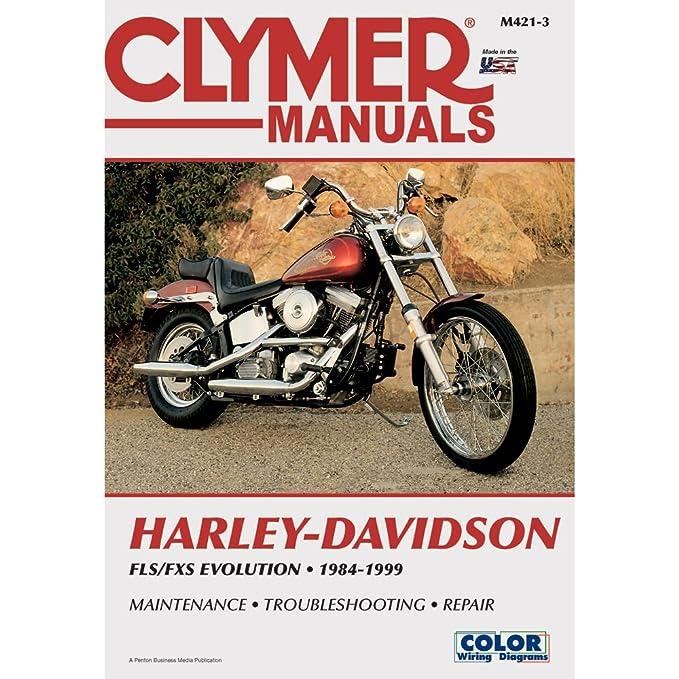 Clymer Repair Manual for Harley FX/FL/FLSTN Softail 84-99 on