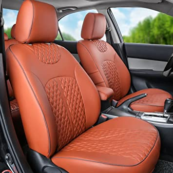 AUDI 80 DELUXE RED PIPING CAR SEAT COVERS 1+1