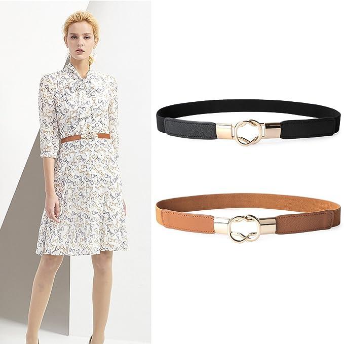 gran venta 4d6b8 9ad6e 4 estilos de correas y cinturones de mujer para definir y ...