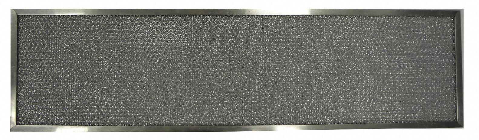 Alum Mesh Filter, 10-1/8Hx35-3/4W, PK2