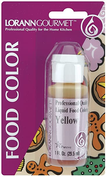 Amazon.com: Liquid Food Color 1oz-Orange: Arts, Crafts & Sewing