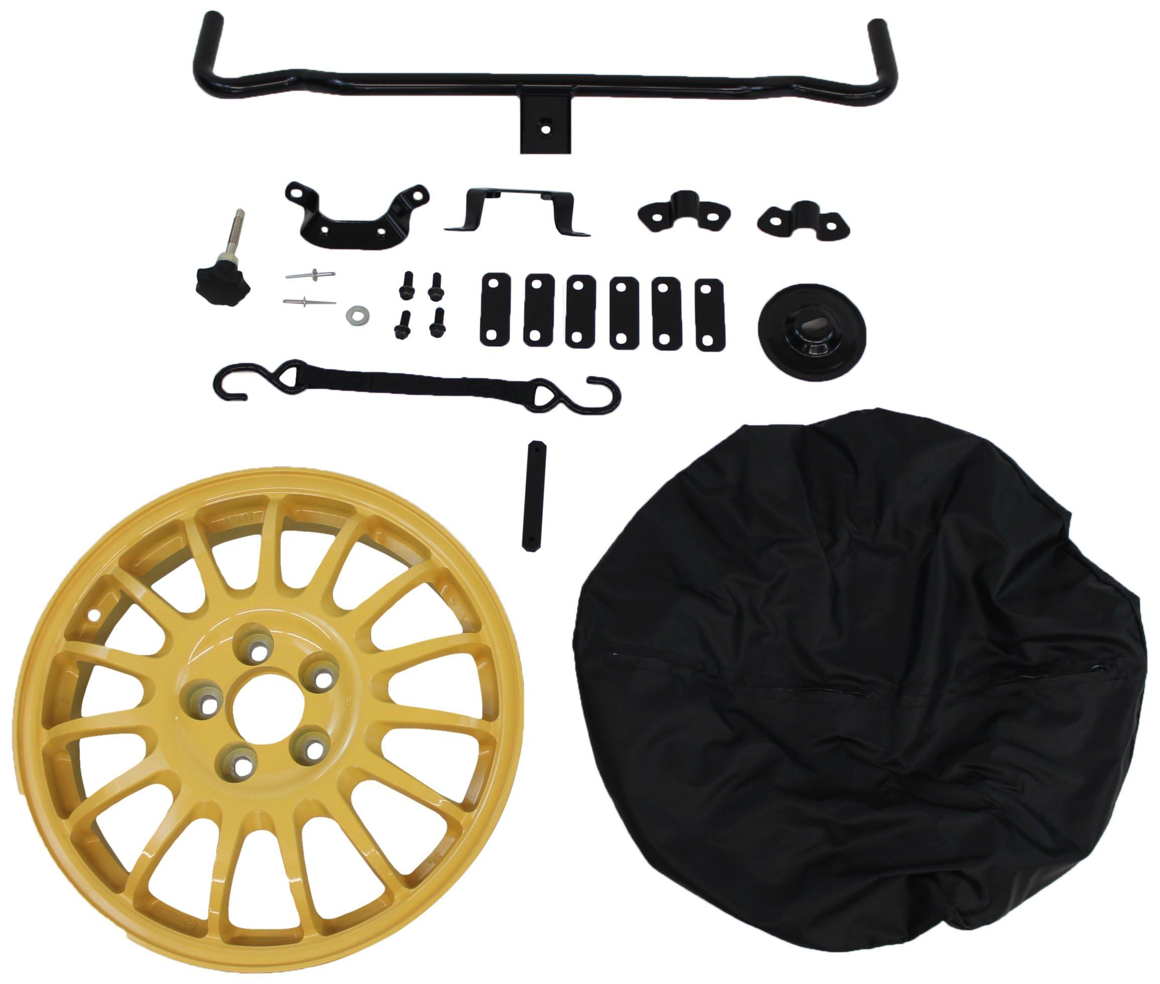 Genuine Mazda Accessories FE01-V8-360 Spare Tire Mounting Kit