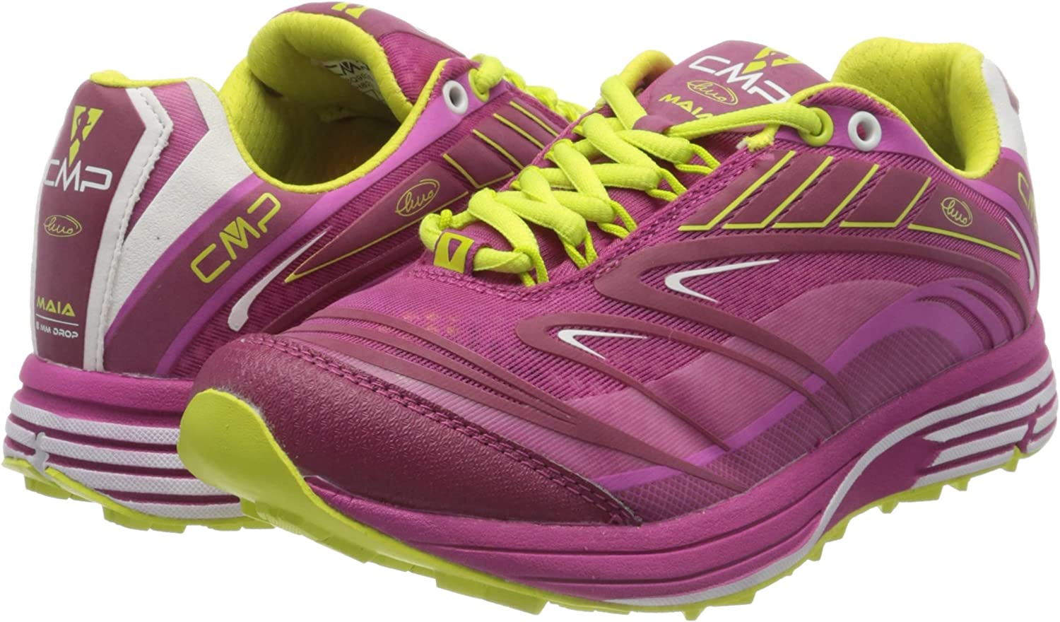 F.lli Campagnolo Womens Trail Running Shoes 6 CMP Pink Geraneo H820