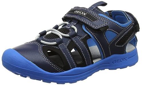 b018ee67070 Geox Boys J Gleeful A Closed Toe Sandals: Amazon.co.uk: Shoes & Bags