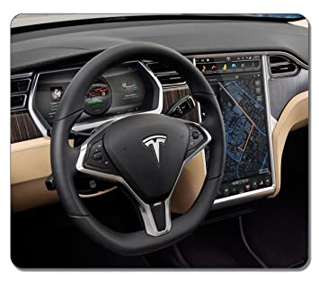 VUTTOO Gaming Mouse Pad Tesla Model S 41423 Large Oblong ...