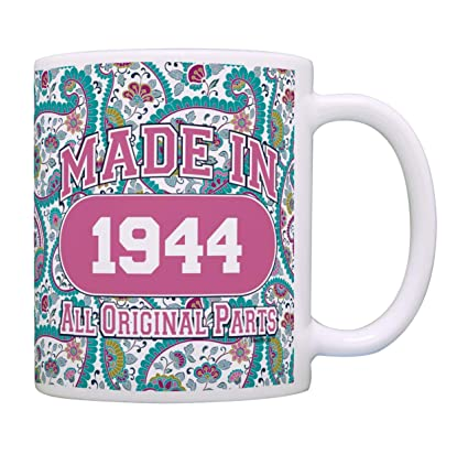 Amazon 75th Birthday Gifts For Women Made 1944